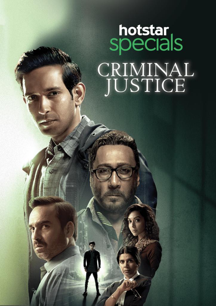 Criminal Justice Season 1 on Hotstar