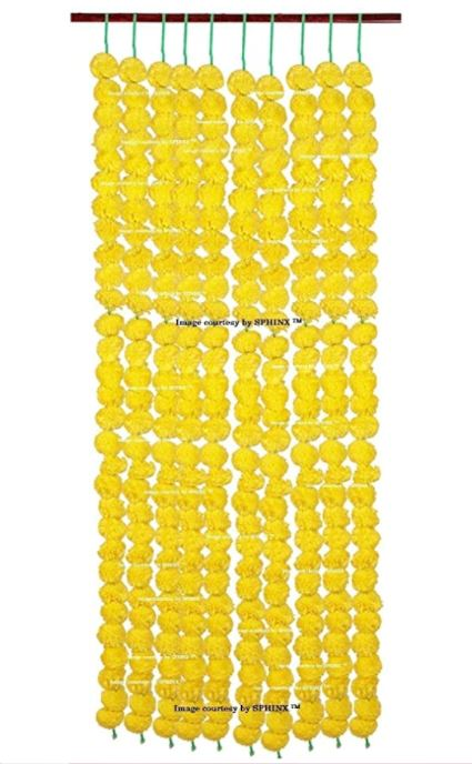 Artificial garlands
